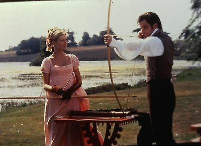 "GWYNETH PALTROW & JEREMY NORTHAM in ""Emma""- Orig. 35mm COLOR Slide"