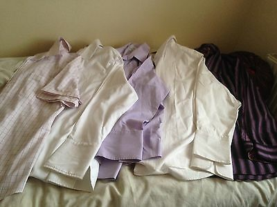Men,s Shirts,size 16.5,set Of 5,g- Condition,g- Quality,next,sand & More,bargain