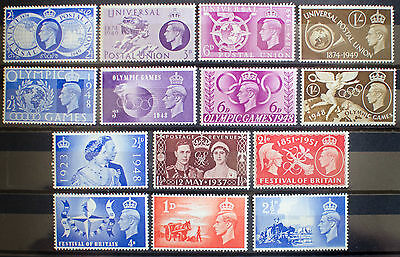 Gb Stamps King George Vi Collection Unmounted Mint Mnh