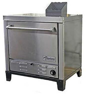 """Peerless Ovens Counter Top Gas Pizza Oven W/ Four 24X19"""" Stone Hearth Decks - C1"""