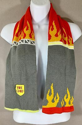 Kidorable Fire Chief Knit Scarf