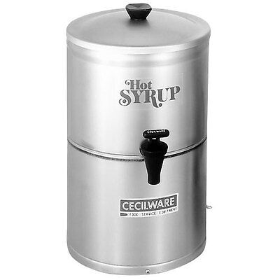 GMCW SD2 Stainless Steel Syrup Warmer / Dispenser - 2 Gal. Capacity