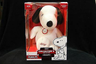 Peanuts 2015 Collector's Edition Snoopy Plush