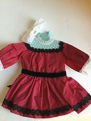 American Girl Doll Samantha's Holiday Dress costco exclusive Samantha limited