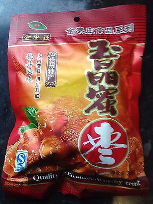 Chinese Ready To Eat Jujube Red Dates Honey Candied 260g
