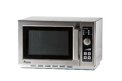 Amana 1.2 Cu.ft Microwave Oven Medium Volume Stainless 1000 Watts - Rcs10Dse