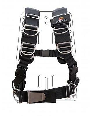 Dive Rite TransPlate Harness - Large for Scuba Diving