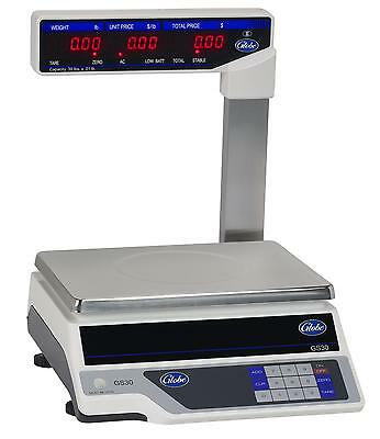 Globe 30lb Capacity Price Computing Scale With Display Tower - GS30T
