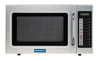 Radiance TMW-1100ER 1.2 CuFt Commercial Stainless Microwave Oven 1000 Watt
