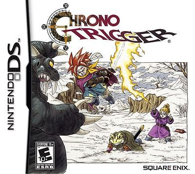 Chrono Trigger Nintendo DS 3ds Brand New *DISPATCHED FROM BRISBANE*