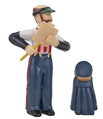 Bachmann - Station Agent with Hat and Coat Figure - G