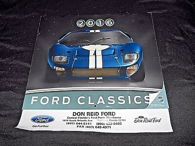Don Reid Ford >> Don Reid Ford Maitland Florida 2016 12 Month Wall Calendar Ford