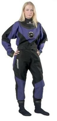 Typhoon Scuba Dive Dry Suit with Rock Boots - Womens - Medium - Large