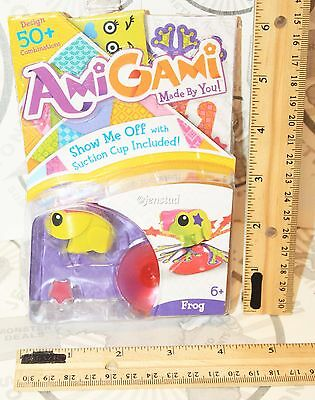 "Amigami Frog Mini Toy 1.25"" Mattel Figures Design & Made By You New 2014"
