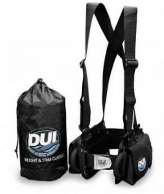 DUI Weight and Trim Classic Weight Scuba Harness System - Size Medium