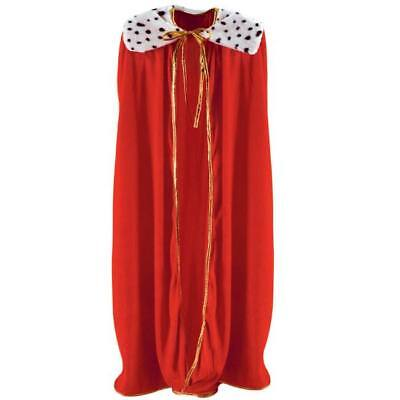 King/Queen Adult Size Red Robe