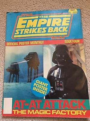 STAR WARS - THE EMPIRE STRIKES BACK Poster Monthly #5 - 1980