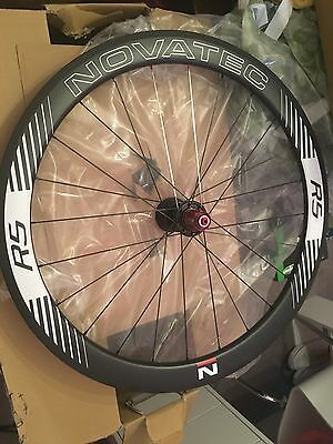 Novatec R5 50mm Carbon Clinchers New! RRP £1400!