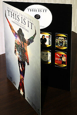 Michael Jackson's This Is It : Limited Edition Mania Collection Set (CD+Magnets)
