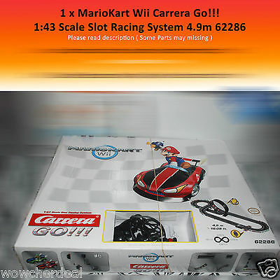 Carrera Go Wii Mario Kart Racing 62286 - Racing Car System Toys Game Only