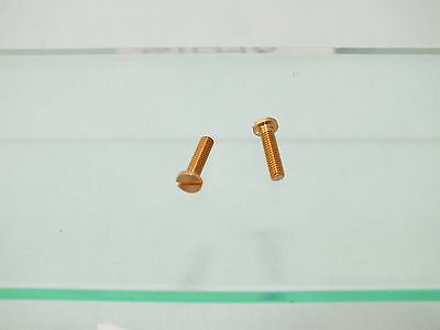 S1090 x 2 HORNBY TRIANG  SPARE BODY FIXING SCREWS       G2C