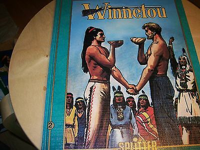 Splitter Comics - Helmut Nickel - Winnetou 2 nach Karl May - Hardcover - TOP