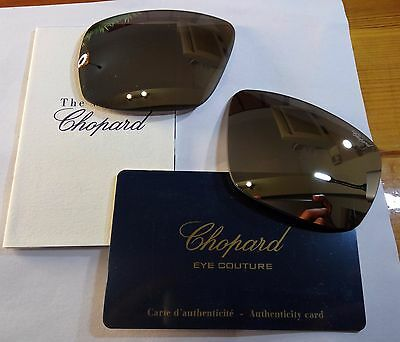 New CHOPARD CHA11 Replacement LENCES SCH A11 579P Grey Silver Mirror POLARIZED