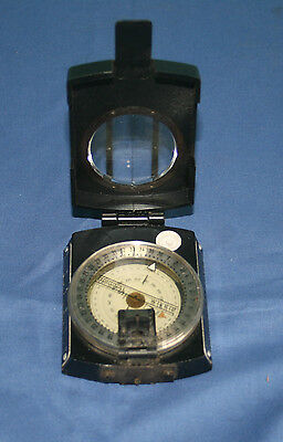 Original Wilkie German Military Marching Compass