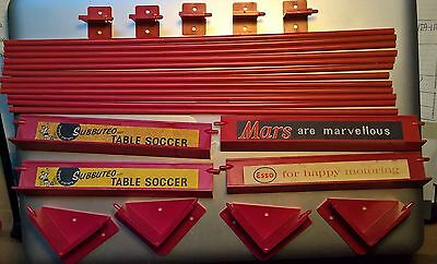 SUBBUTEO Rare Old Unboxed RED FENCES SURROUND C108 Set barriere Spares EX no box