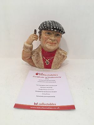 Peggy Davies Delboy Only Fools and Horses Toby Jug Limited Edition & COA *WOW*