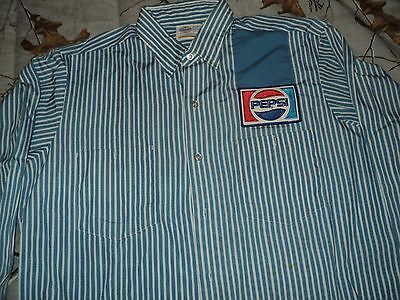Vintage Employee Shirt for Pepsi Cola in Nice Shape