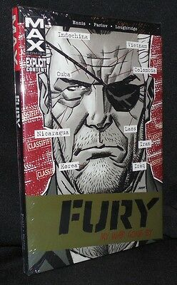 Marvel Max Fury My War Gone By Deluxe Hc Garth Ennis New Sealed 2014 Free Ship