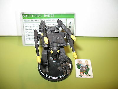"=Mechwarrior MERC ""Blackout"" Malice 076 MAL-XP-A with card 01="