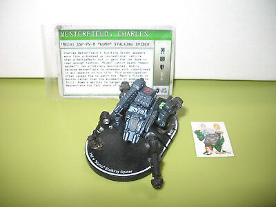 "=Mechwarrior MERC ""Kumo"" Stalking Spider 071 SSP-PV-M with card 01 ="