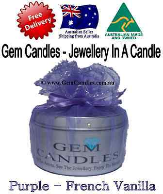 French Vanilla - Jewellery In Candles FREE POST massage sensual sexc romantic