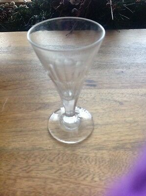 LATE GEORGIAN / EARLY VICTORIAN SINGLE  ALE GLASS, Excellent Condition.