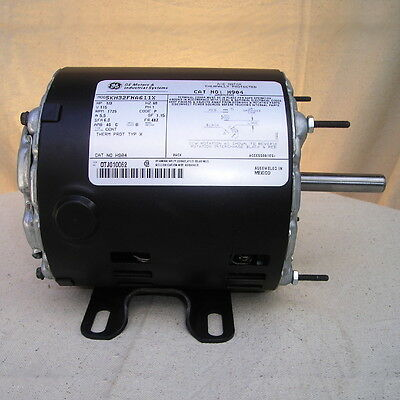 General Electric 1/3 HP 115 V. Electric Motor 1725 RPM New