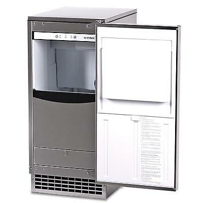 Ice-O-Matic 85Lb Gem Series Air-Cooled Nugget Ice Machine Self-Contained - Gemu0