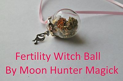 Fertility Boost Conception Spell Witch Ball 20+ Yrs Exp.Pagan Wicca Pregnancy