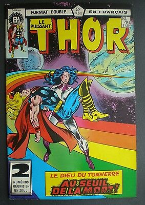 �� THOR #141/142 Comic Book -  french version - editions HERITAGE