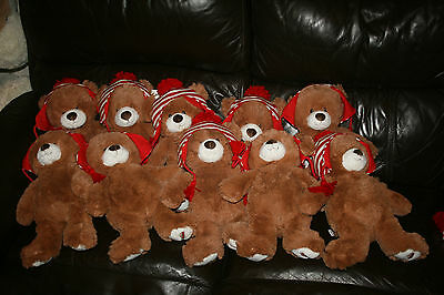 10x Amazon Gund Teddy Bear 2015 Limited Edition, COLLECTABLE, RARE