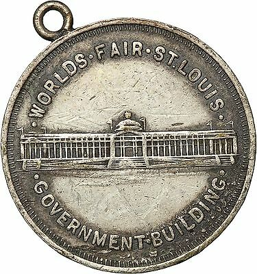 Worlds Fair St. Louis 1904 , Government building/ Cascades Medal