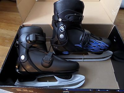 UI Youth Adjustable Ice Skates Boys & Girls: Adjust from size 3 to 6
