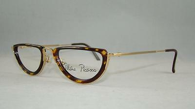 Paloma Picasso 3781 41 RARE VINTAGE Tortoise Gold Reading Glasses Frames Brille
