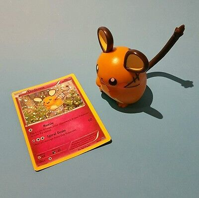 Pokemon McDonald's Happy Meal Toys EUROPE NEW 2016 Dedenne Figure + Trading Card