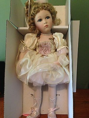 """Show Stoppers """"Tabitha"""" Porcelain Doll FLORENCE MARANUK COLLECTION"""