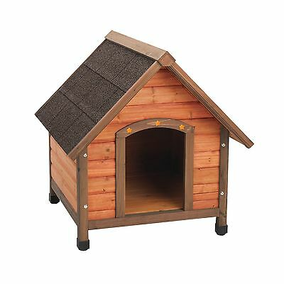 Ware Manufacturing Premium Plus A-Frame Fir Wood Dog House - Small