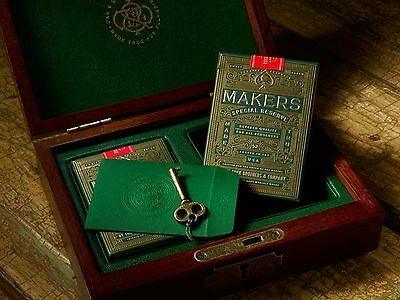 Makers Playing Cards Special Reserve Rare Limited 2 Deck Box Set Dan & Dave $$$$