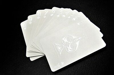 Impressions White Phantom Professional Poker Rare Limited Playing Cards Deck