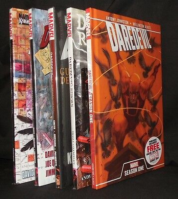 Lot Of 5 Daredevil Premiere Hc Set Marvel Mint Dc Free Shipping